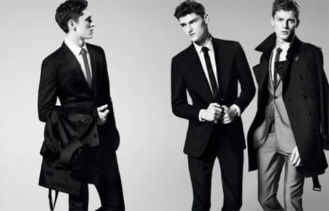 Traje Burberry Black Label P/V 2013