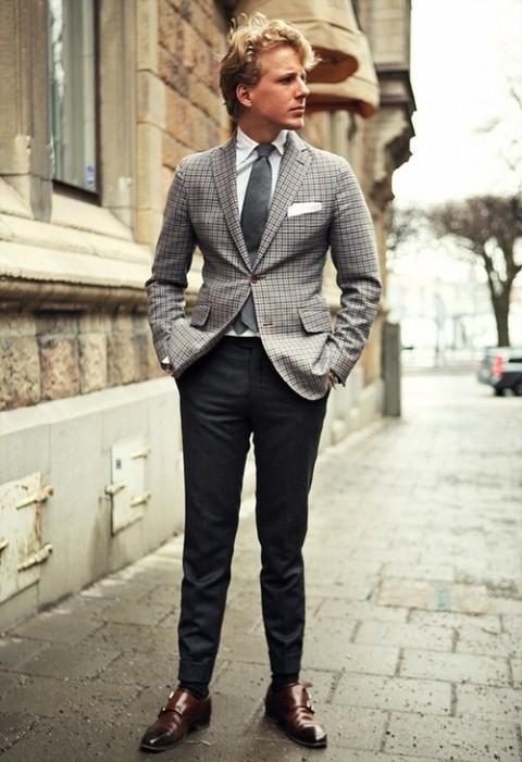 pantalones bien ajustados