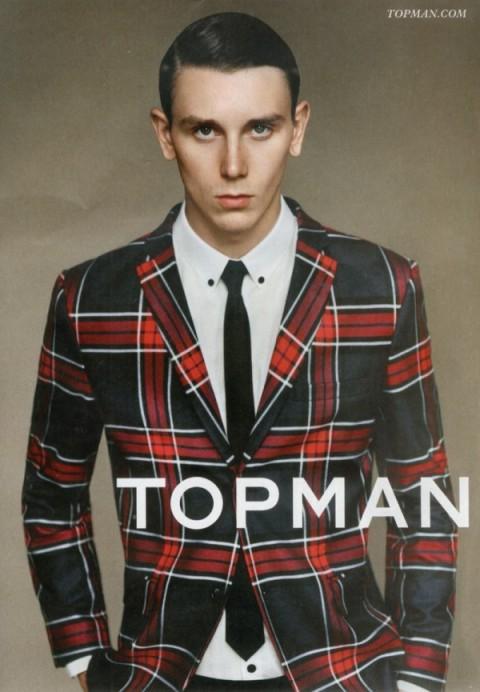 Tartan-Mens-Looks-in-Topman-Winter-2013-Campaign-1-600x865TheBestFashionBlog