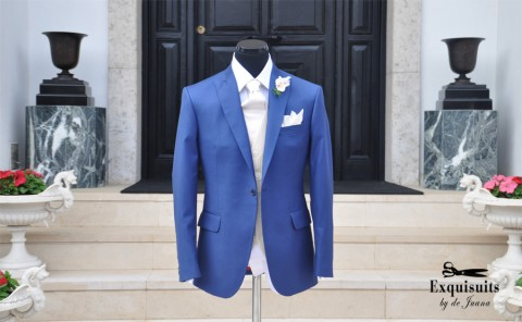 Electric Blue suit Exquisuits