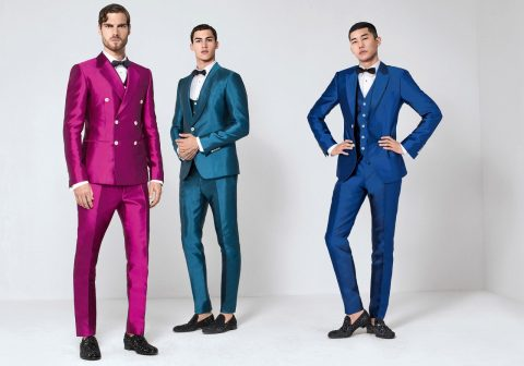 Coloured suits Dolce & Gabbana S/S 2016