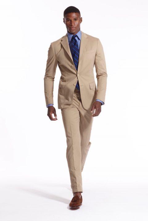 Hazelnut suit Ralph Lauren S/S 2016