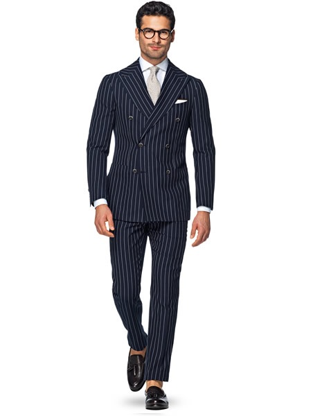 Traje diplomático azul suit supply