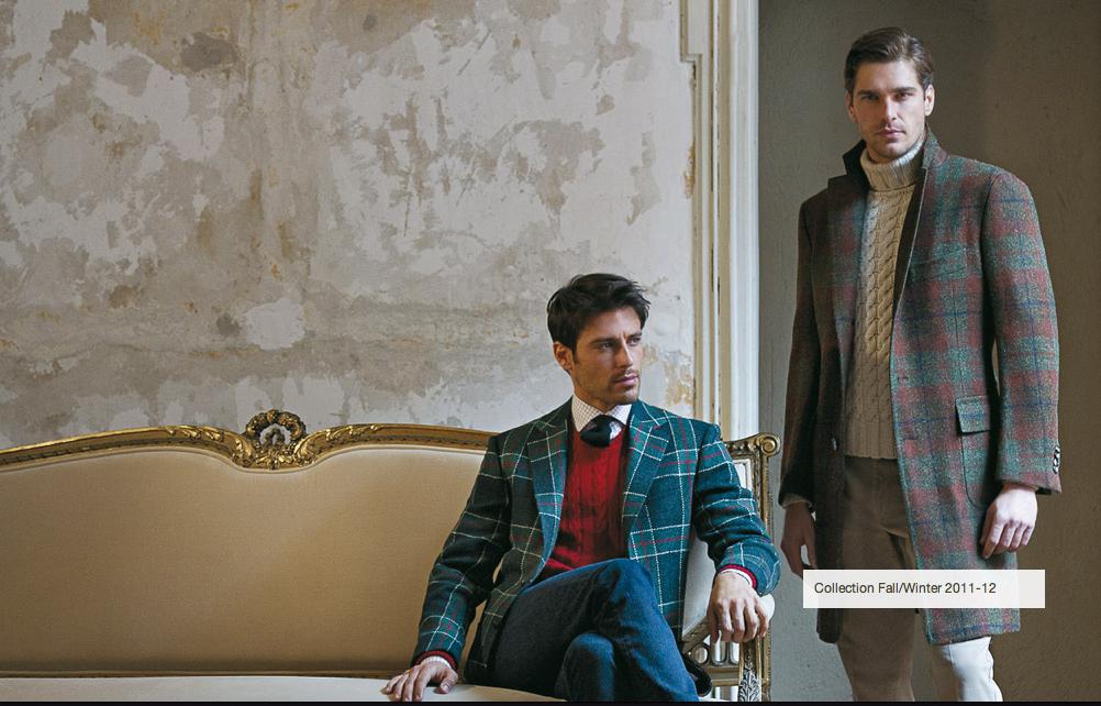 Americana y abrigo Cesare Attolini