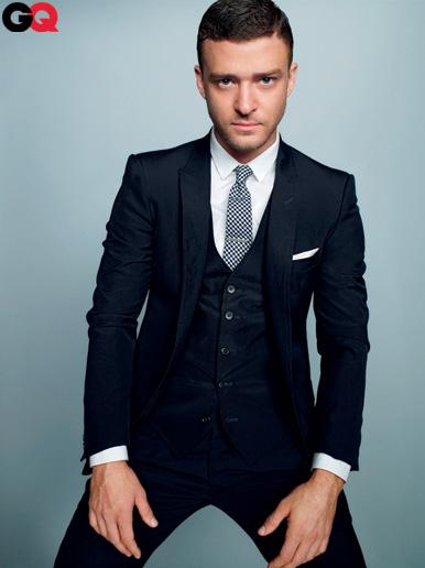 Traje con chaleco Justin Timberlake