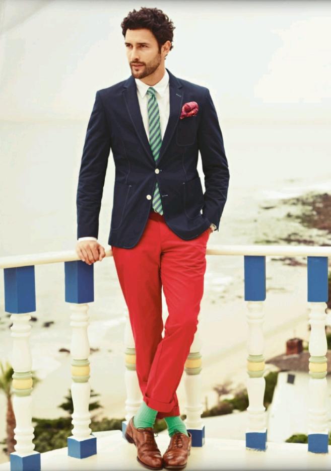 Pantalones Rojos Mcneal
