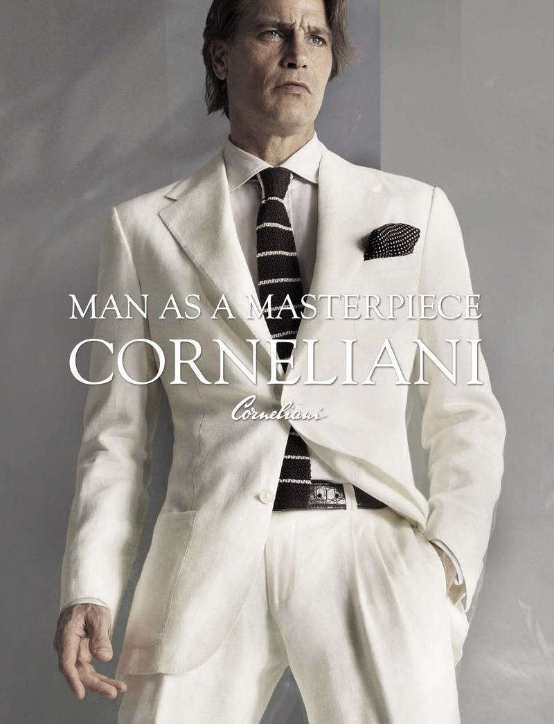 Traje Blanco Corneliani P/V 2013