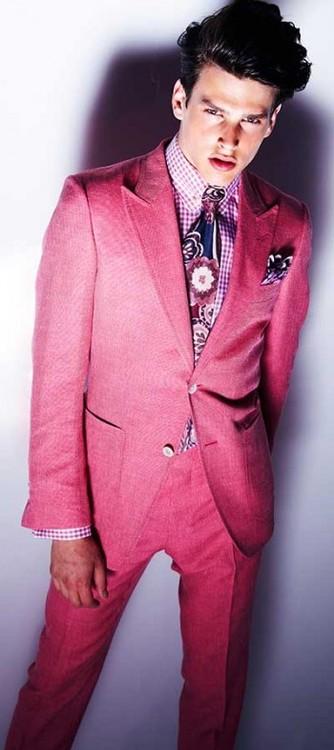 Traje rojo Tom Ford Lookbook 2013