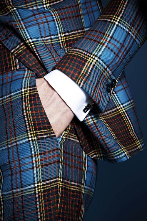 Detalle traje Lapo's Wardrobe by Gucci