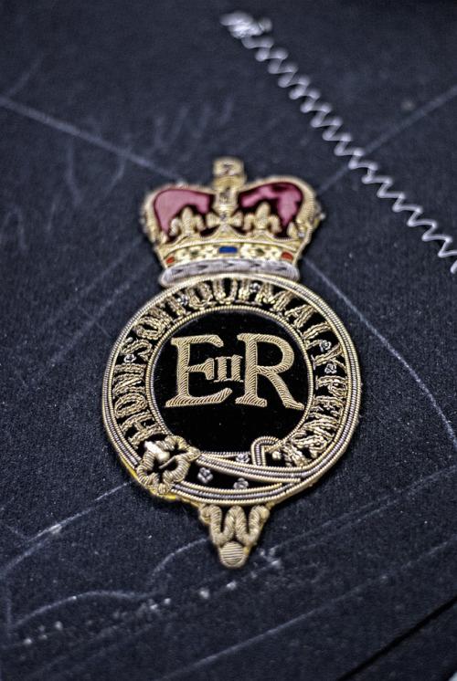 Emblema para americana Henry Pool Savile Row