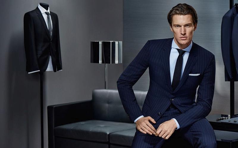 Traje azul diplomático Hugo Boss Made to Measure