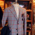 Americana cuadro azul y rojo Tailorable & Co
