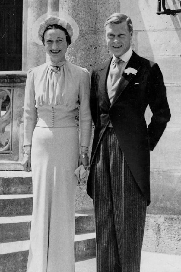 Eduardo VIII vistiendo de chaqué