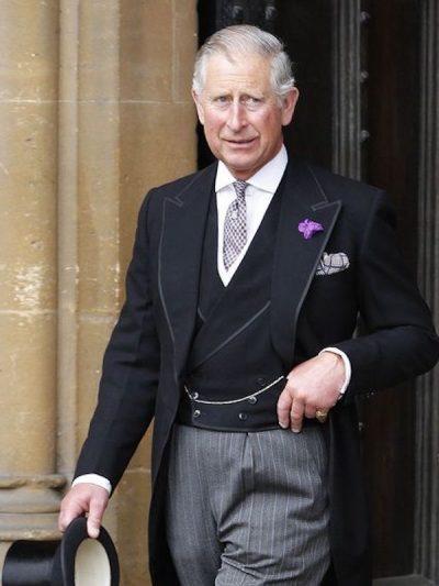 Prince Charles vistiendo de Chaqué