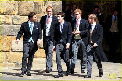 Príncipe Harry vistiendo Chaqué